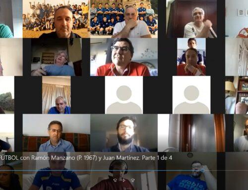 Encuentro digital en torno al fútbol con gran participación de distintas promociones