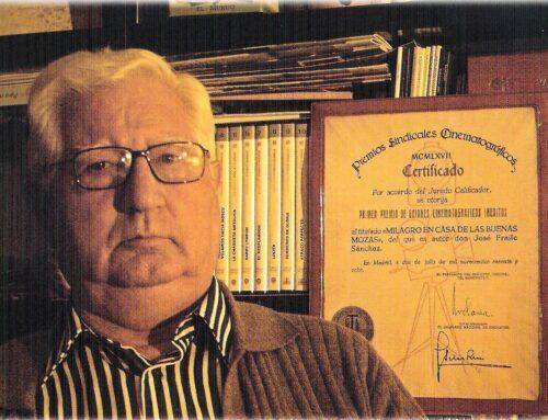 D.E.P. D. José Fraile Sánchez, psiquiatra, neurólogo y psicólogo, antiguo alumno Pr. 53