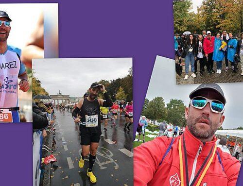 Nuestro compañero de la Pr. 94, Javier Juárez Sánchez-Grande corrió la Berlín-Marathon