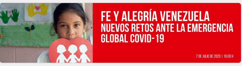 La ONG Entreculturas nos invita a un encuentro virtual sobre la acción en Venezuela