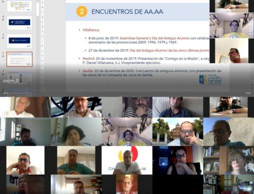 La AA.AA. celebra su primera Asamblea General Ordinaria por vía telemática