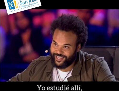 Carlos Jean presume de Colegio en televisión