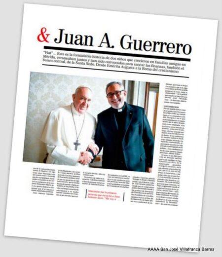 Marca #SanJoséVillafranca en las finanzas del Vaticano
