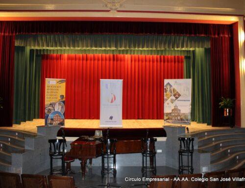 I. Clemente y M. Ollero recogen la distinción «Círculo de Valores» en el Colegio