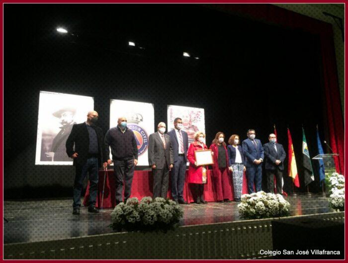 Emotivo homenaje a D Juan de la Peña, nombrado hijo adoptivo de Villafranca
