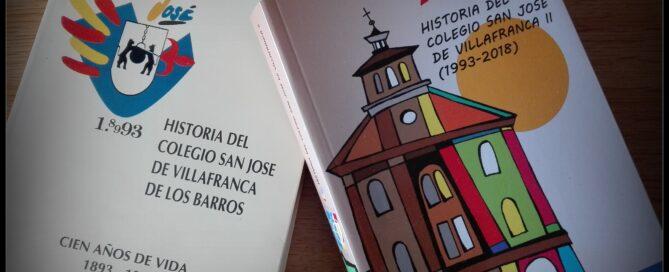libros Historia Colegio San José Villafranca