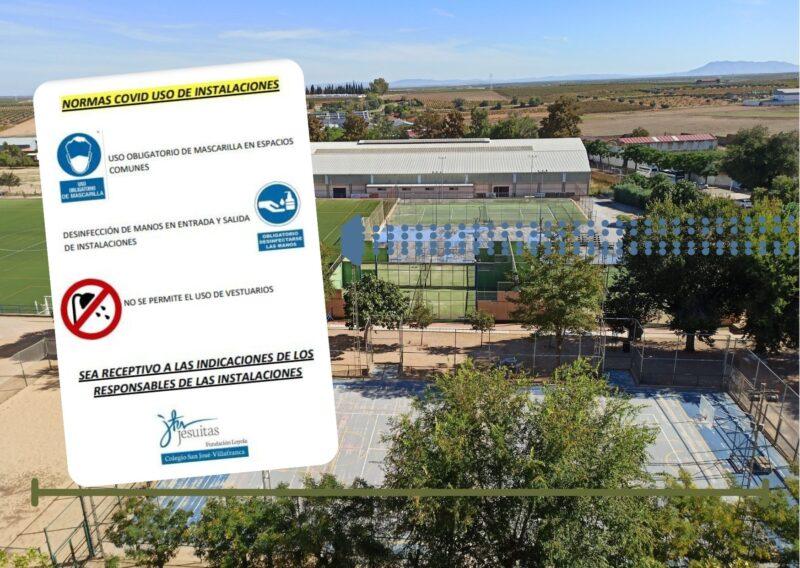 Práctica deportiva en el Colegio San José con descuentos para socios de AA.AA